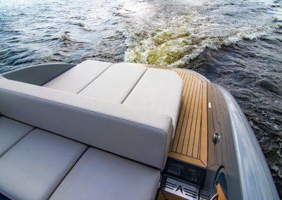 boot met open achterkant