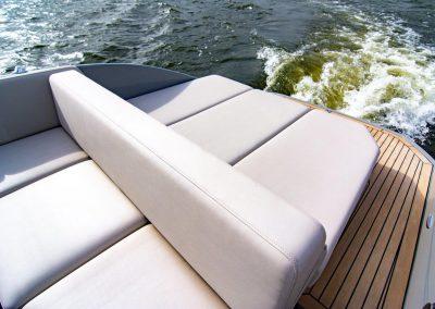 boot met zonnedek