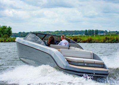 luxe speedboot