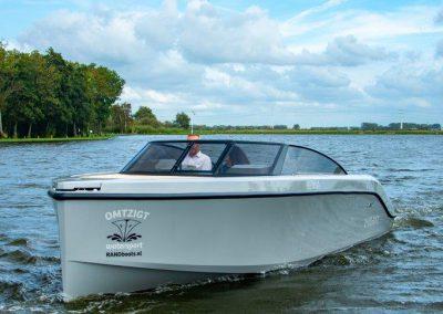 speedboot grijs